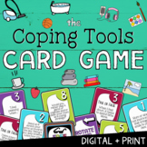 COPING TOOLS: A School Counseling Stress Management & Coping Skills Card Game