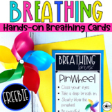Mindful Hands-On Breathing Cards FREEBIE | Social Emotional Learning SEL