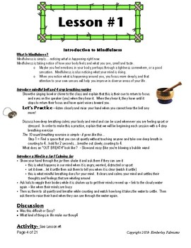 Mindful Kids - Upper Elementary Mindfulness Curriculum