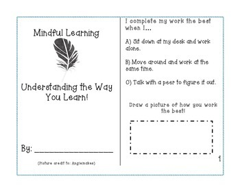 Mindful Learning Brochure