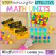 Mindful MATH Curriculum BUNDLE - 10 Units for Kindergarten