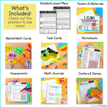 Mindful MATH Curriculum BUNDLE - 10 Units for Second Grade