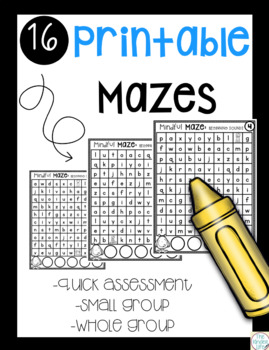 Mindful Maze Beginning Sounds: Interactive and Vocabulary Building Review