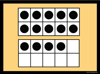 Digital Task Cards Numbers 11-20 Numerals and Ten-Frames