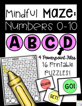 Digital Task Cards Numbers 0-10 Numerals and Ten-Frames