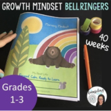 SEL Check in Journal with Growth Mindset plus Distance Learning