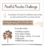 Mindful Minutes Challenge for School Staff