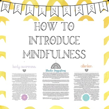 Mindful Monday:Introducing Mindfulness Into The Classroom