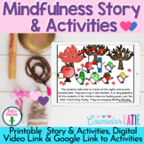 Mindfulness Lesson - Activities - Story- Printable & Digit
