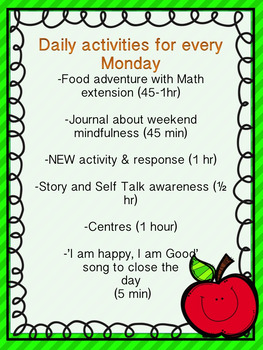 Mindful Mondays: A Yearlong Framework for Increasing Engagement and Interest!