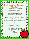 Mindful Mondays: A Yearlong Framework for Increasing Engag