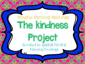 Mindful Morning Meetings bundle