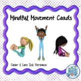 Mindful Movement Cards - Mindfulness & SEL in Music Class