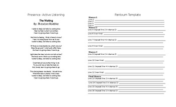 Poetry Workbook for Mindfulness
