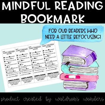 Mindful Reading Bookmarks