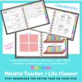 Mindful Teacher/Life Digital Planner - *UPDATED 21-22* Goo