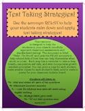 """Mindful Test Taking Strategies:  """"Help! I'm Stuck"""""""