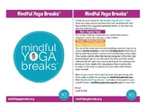 Mindful Yoga Breaks Card Deck