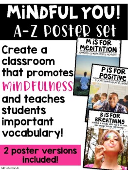 Mindful You! Poster Set A-Z
