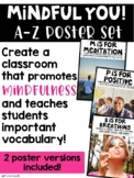 Mindful You! Poster Set A-Z