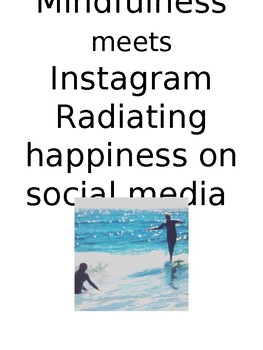 MIndful tech- Create an mindful post on an instagram template