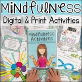 Mindfulness Activities | Distance Learning | Digital & Print