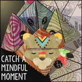 Mindfulness Activities Cootie Catcher and Posters