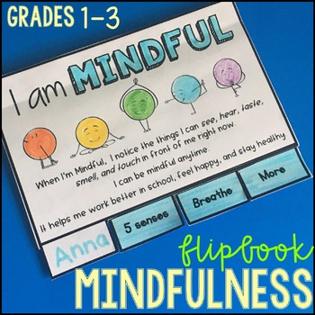 Mindfulness Activities - Flipbook and Bookmarks