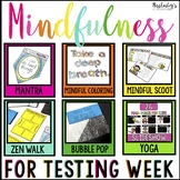 Mindfulness Activities For Testing Week