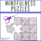 Mindfulness Activities for Kids | Self Care Coloring Pages | Brain Break Puzzles