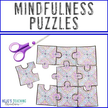 Mindfulness Coloring Pages | After Test Activities | Send in Coronavirus Packets