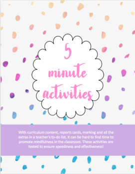 *Bundle*Mindfulness Activities for the Classroom