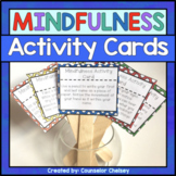 Mindfulness Activity Brain Break Cards For Calm Down Corners And Self-Regulation