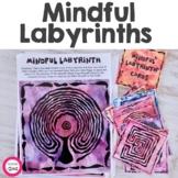 Mindfulness Activity Cards - Labyrinths | Mazes | Calm Cor