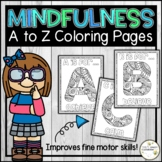 Mindfulness Activity - Mindful Coloring Pages