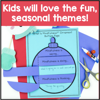 Mindfulness Activity Pack - Winter Themed