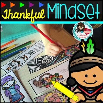 Mindfulness Fall Activity - Thanksgiving Bookmarks