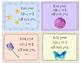 Mindfulness Affirmation Student Cards -- Positivity, Medit