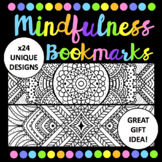 Mindfulness Bookmarks - Great Gift Idea - x24 Unique Designs