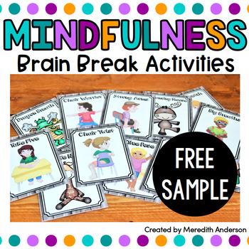 Mindfulness Brain Breaks FREE Sample