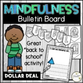 Mindfulness Bulletin Board - Mindful Writing and Coloring