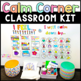 Calm Down Corner Kit with Printable Calming Strategies