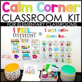 Calm Down Corner Kit + Printable Calming Strategies