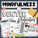 Mindfulness Center Activities for Students.