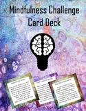 Mindfulness Challenge Card Deck