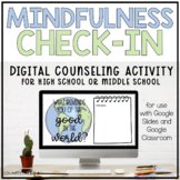 Mindfulness Check-In Digital Counseling Activity