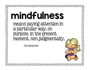 Mindfulness Classroom Posters