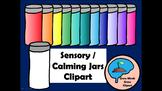 Mindfulness Clipart:  Sensory / Calming Jars