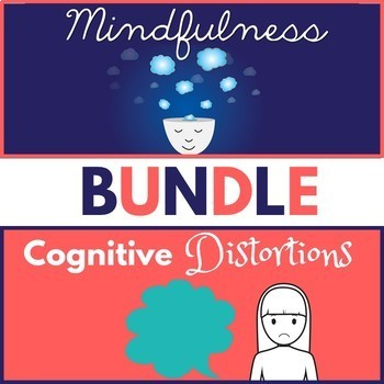 Mindfulness & Cognitive Behavioral Therapy PowerPoint Bundle