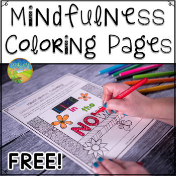 Mindfulness Coloring Freebie